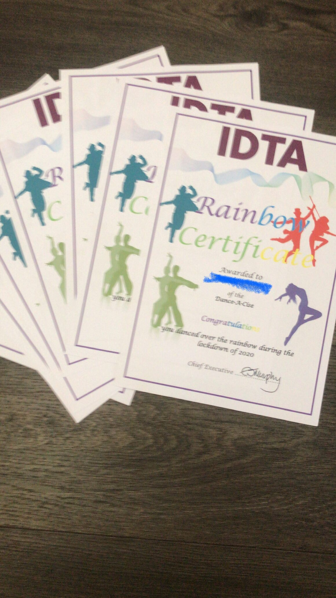 Thank you IDTA