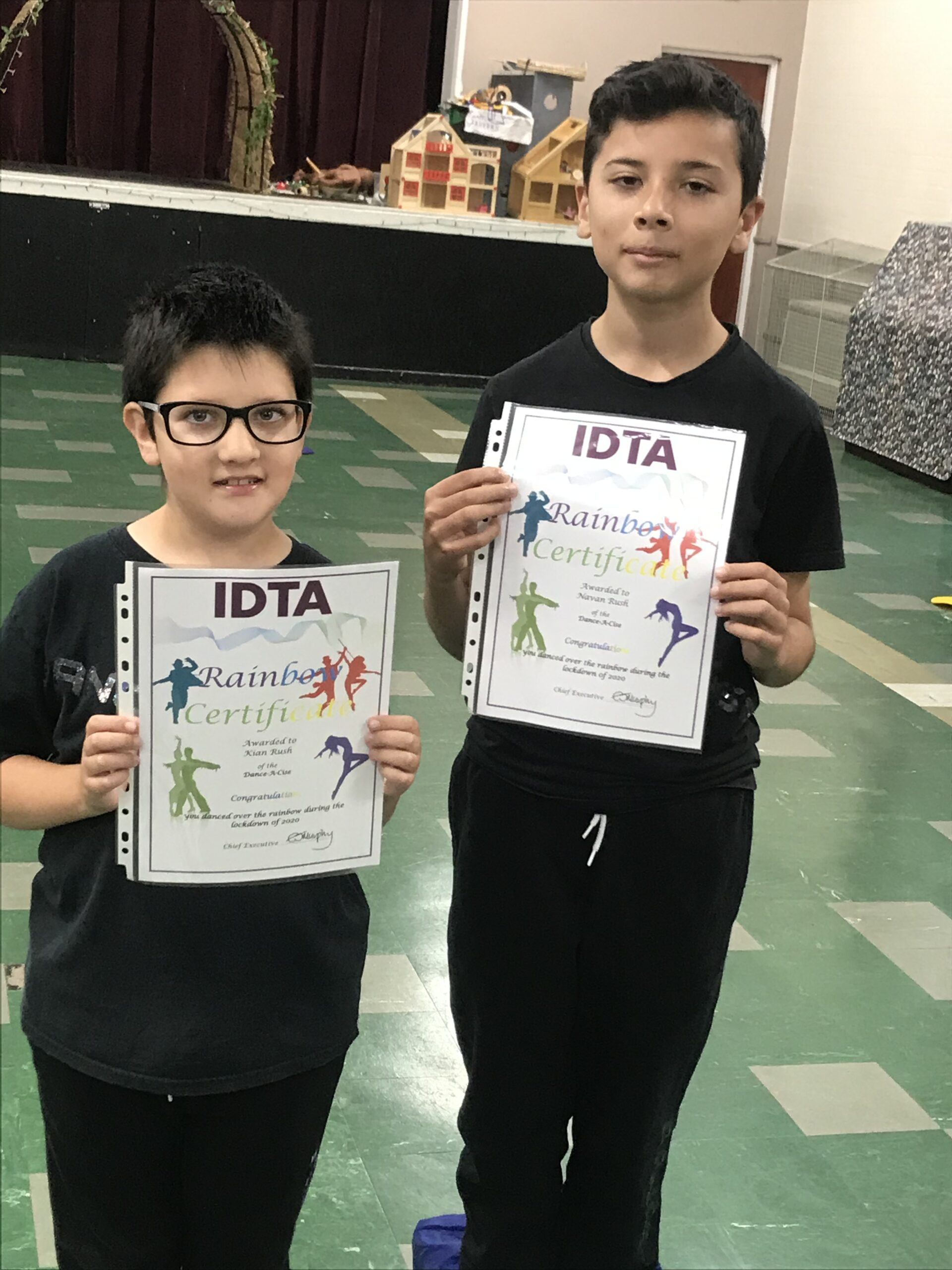 IDTA Rainbow Certificates